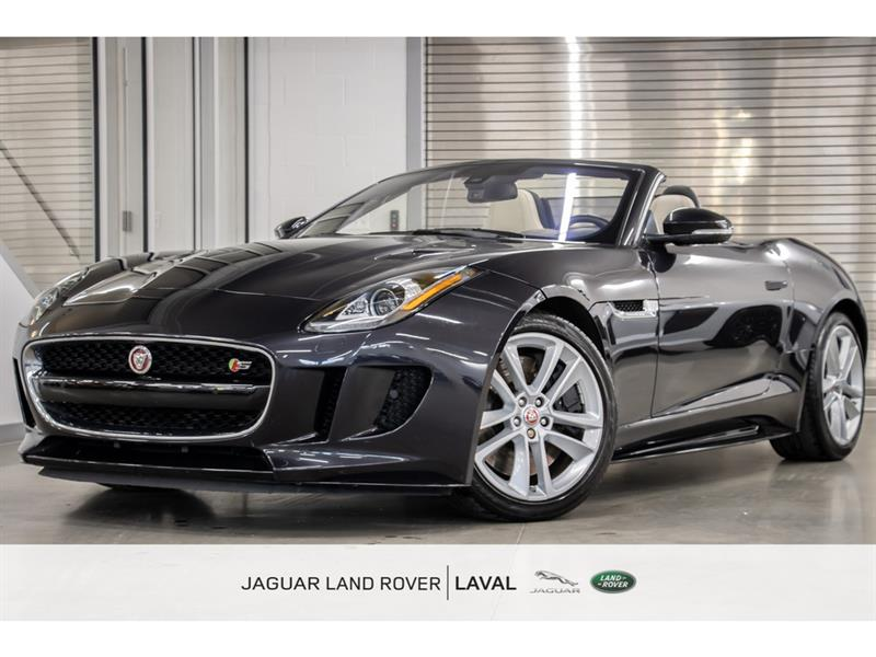 Jaguar F-Type S AWD Convertible BAS KMs, BAL 2017
