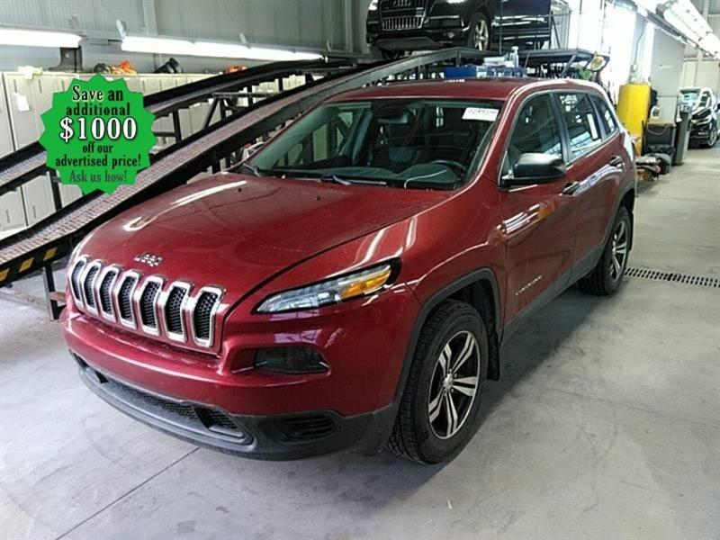 2017 Jeep Cherokee Sport* B.tooth/Htd seats/4WD #24680