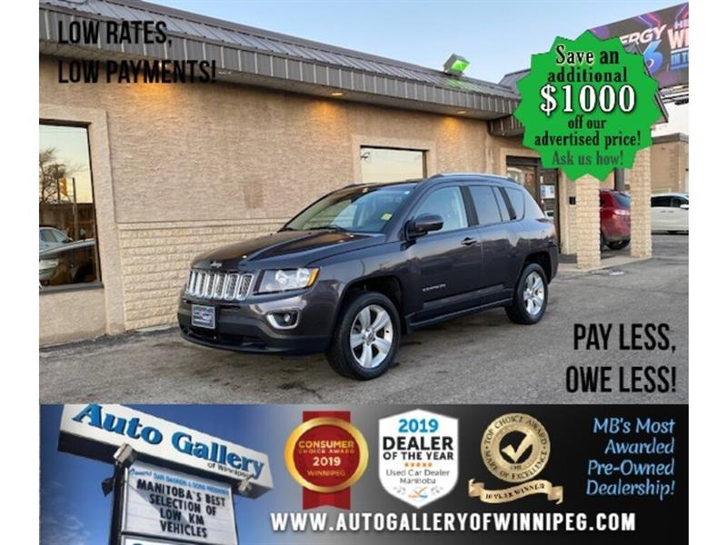 2017 Jeep Compass High Altitude Edition* 4x4/Htd seats/B.tooth #24608