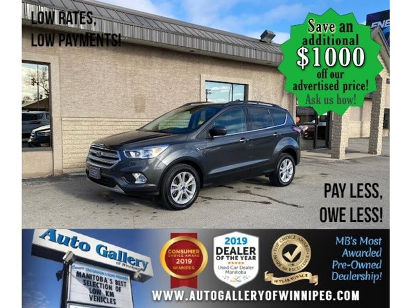 2018 Ford Escape SE* 4wd/Htd seats/Nav #24638