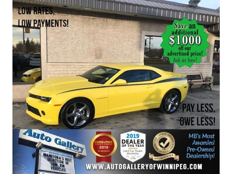 2014 Chevrolet Camaro 1LT* B.tooth/Coupe/satellite radio #24681