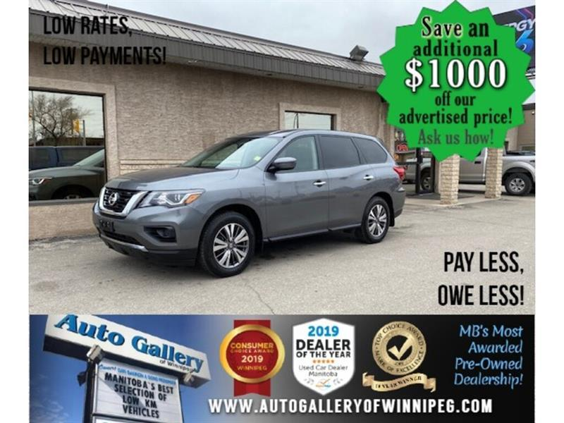 2018 Nissan Pathfinder S* 7Pass/R. air/4wd #24652