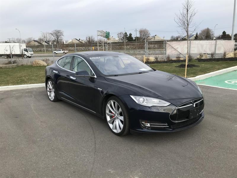 Tesla Model S P85 CUIR TOIT NAV 2014