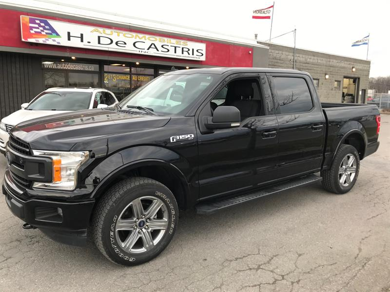Ford F-150 2019 4WD SuperCrew XLT SPORT #KFC90378