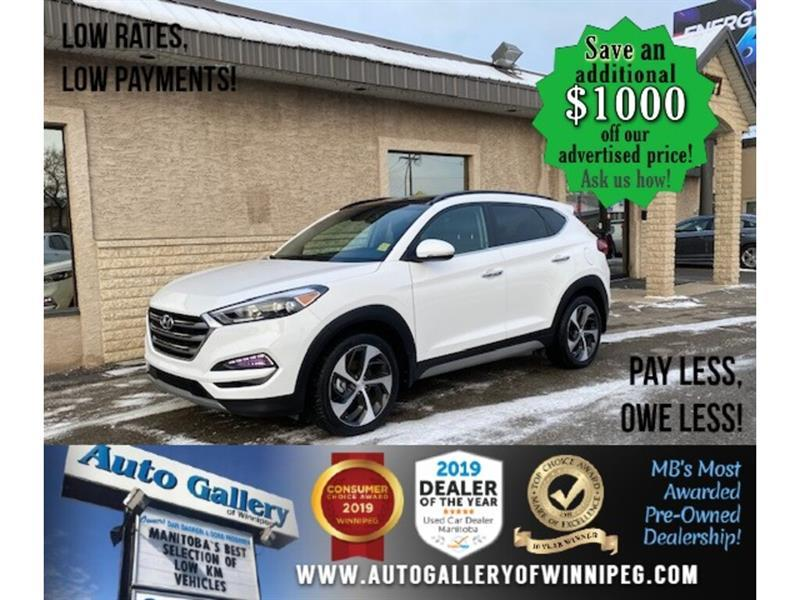2018 Hyundai Tucson Ultimate* AWD/Roof/Lthr #24671
