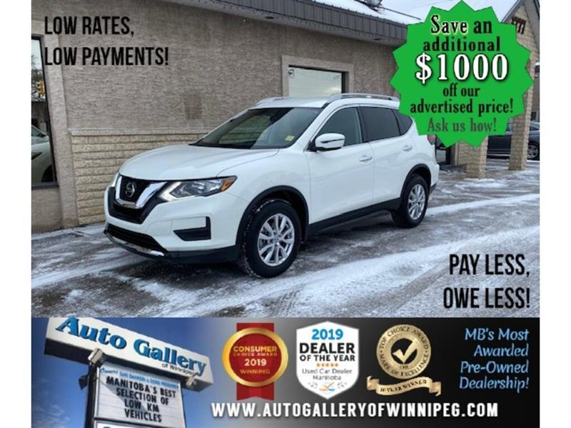 2020 Nissan Rogue Special edition* AWD/B.cam/B.tooth/Htd seats #24674
