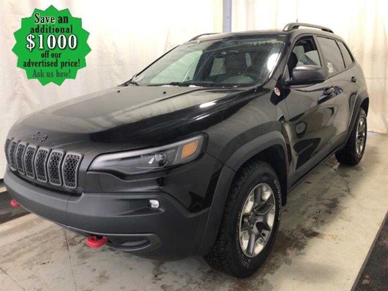 2019 Jeep Cherokee Trailhawk* 4x4/Htd seats/Nav #24690