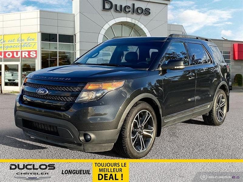 Ford Explorer 4WD Sport 7 PASS CUIR CAMERA M 2015
