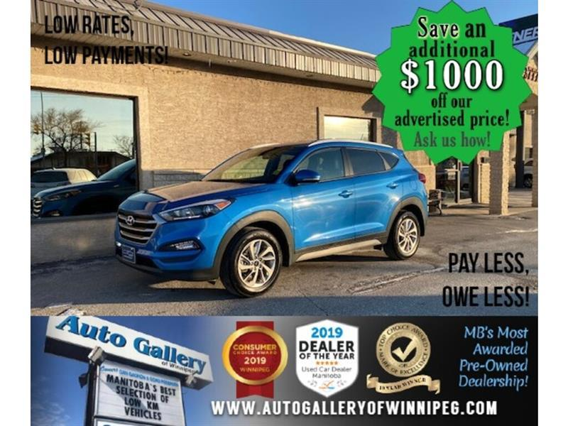2017 Hyundai Tucson Premium* AWD/B.tooth/Htd seats #24684