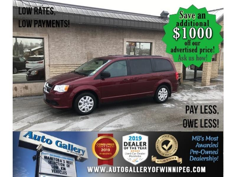 2017 Dodge Grand Caravan SXT* LOW KMS/Bluetooth/Reverse Camera/STOW & GO #24668