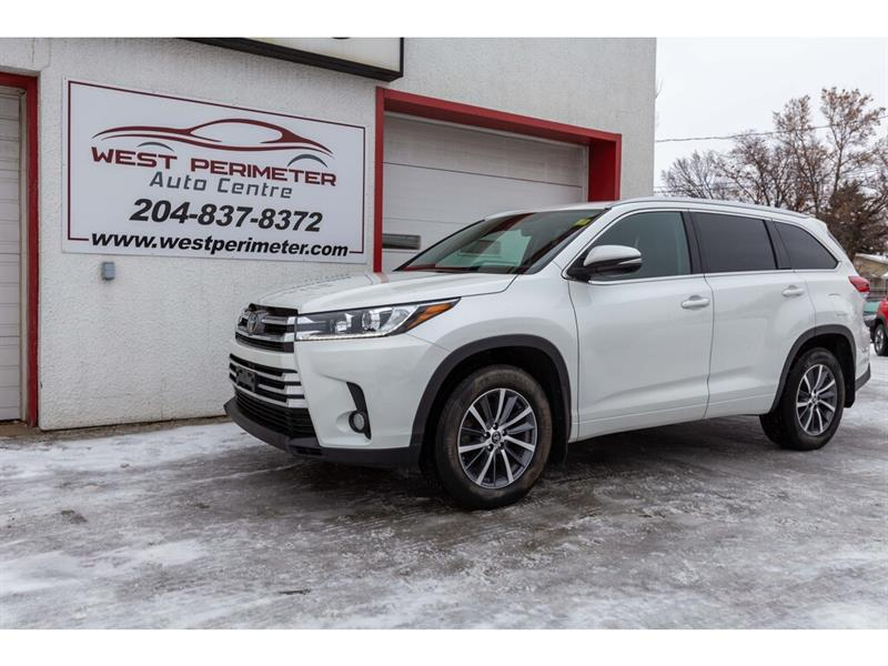 2018 Toyota Highlander AWD XLE*S/Roof*Power Liftgate*Htd Leather Seats #5823