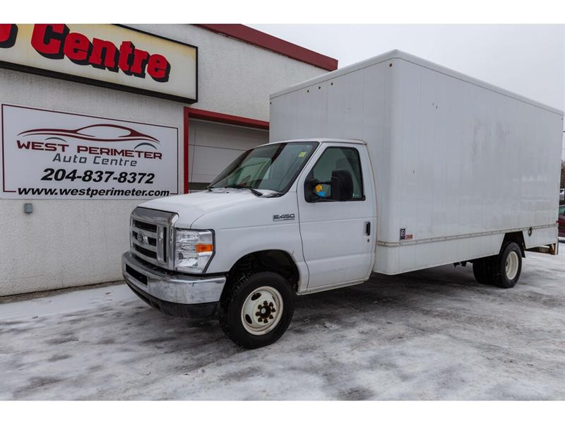 2018 Ford E-450 E450 *16' BOX*RAMP*FINANCE OR LEASE* #5842