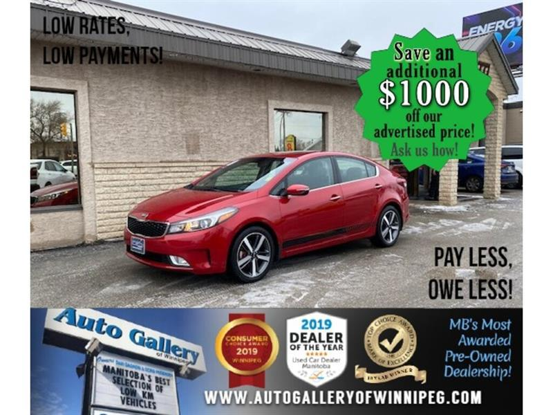 2017 Kia Forte EX* Heated Seats/Apple CARPLAY/SUNROOF #24689