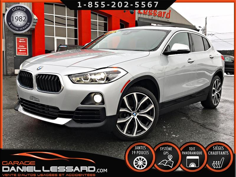 BMW X2 2018 XDRIVE 28i, 2.0L, MAG 19 P, GPS, TOIT, HEAD UP  #80555