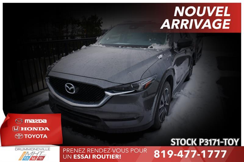 2017 Mazda  CX-5 GT  **  INTÉRIEUR CUIR BLANC M