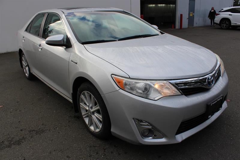 2012 Toyota Camry Hybrid XLE - Power Moonroof. SXM. Navigation. #13195A (KEY 56)