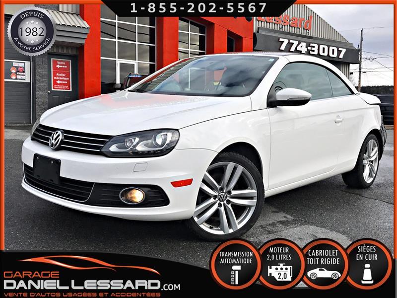 Volkswagen Eos 2013 COMFORTLINE, CONVERTIBLE TOIT RIGIDE, CUIR, BAS KM #30608