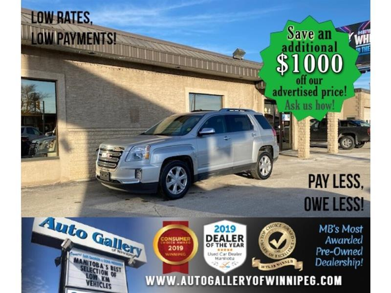 2017 GMC Terrain SLT* LOW KMS/AWD/Leather/Heated Seats/REMOTE START #24704