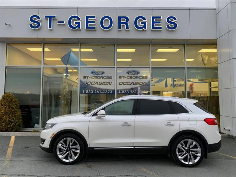 2016 Lincoln  MKX Reserve Awd 2.7L ECOBOOST CUIR