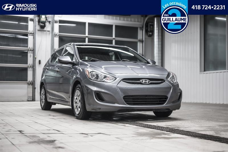 Hyundai Accent 2017 LE chez Rimouski Hyundai