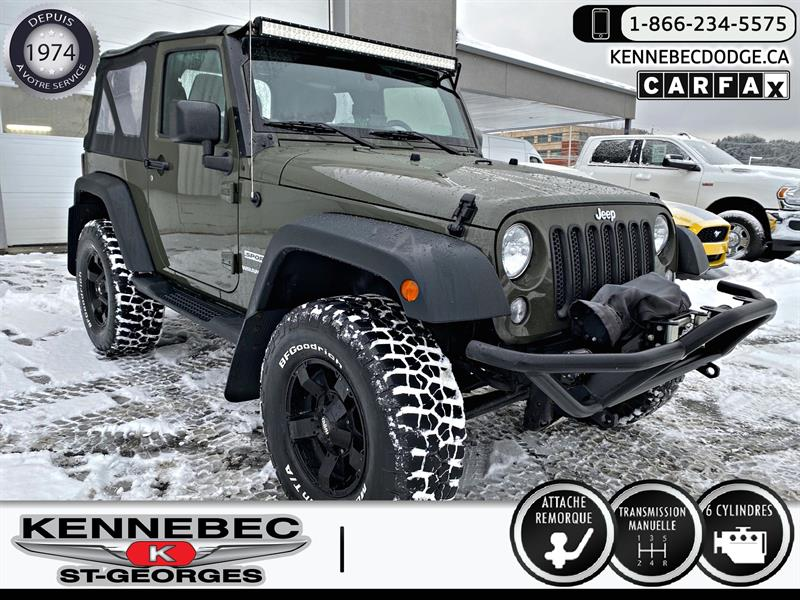 Jeep Wrangler 2015 4WD 2dr Sport #05370A
