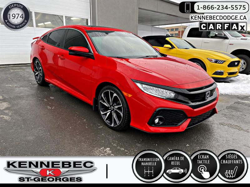 Honda Civic Sedan 2017 4dr Man Si #41582A
