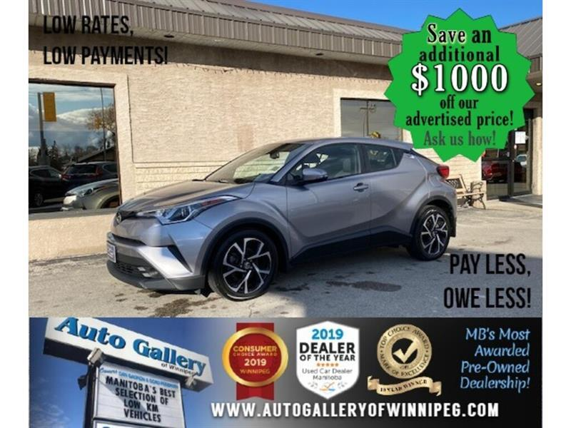 2018 Toyota C-HR XLE* B.cam/Htd seats/B.tooth #24657