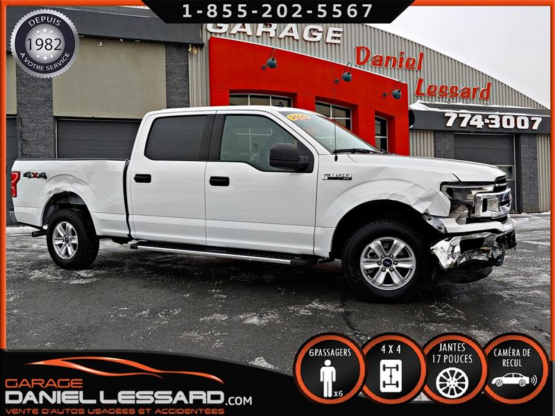 Ford F-150 2020 4X4 SUPERCREW 3.5 L ECOBOOST, XLT 6 PLACES, MAGS #00639