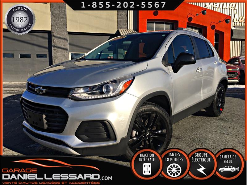 Chevrolet Trax 2019 RED LINE EDITION, LT AWD, MAG 18 P, CUIR ET TISSUS #90653