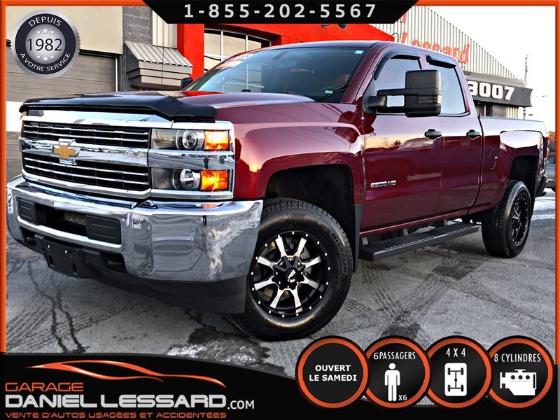 Chevrolet Silverado 2500HD 2015 WT 4X4 6.0 L V-8 AU GAZ, 4X4 AU PLANCHER, BAS KM #50368