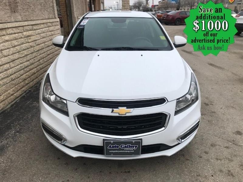 2015 Chevrolet Cruze 1LT* Bluetooth/Reverse Camera/REMOTE START #24709