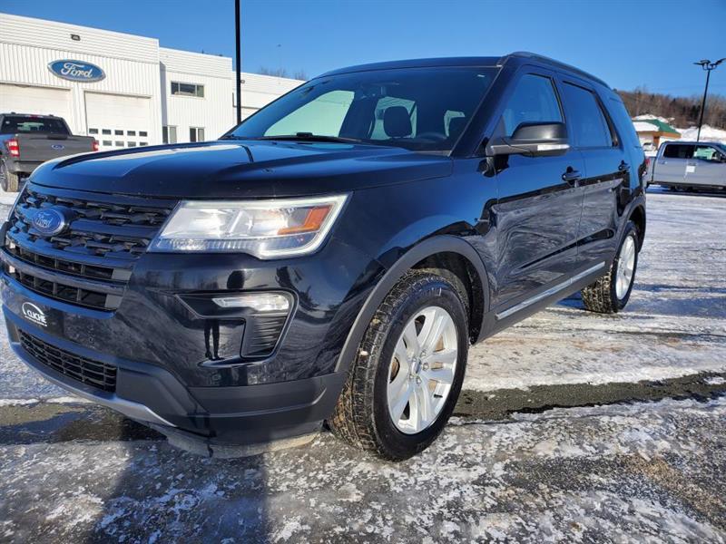 2018 Ford  Explorer XLT, AWD, 7 PASS, SIEGES CHAUF