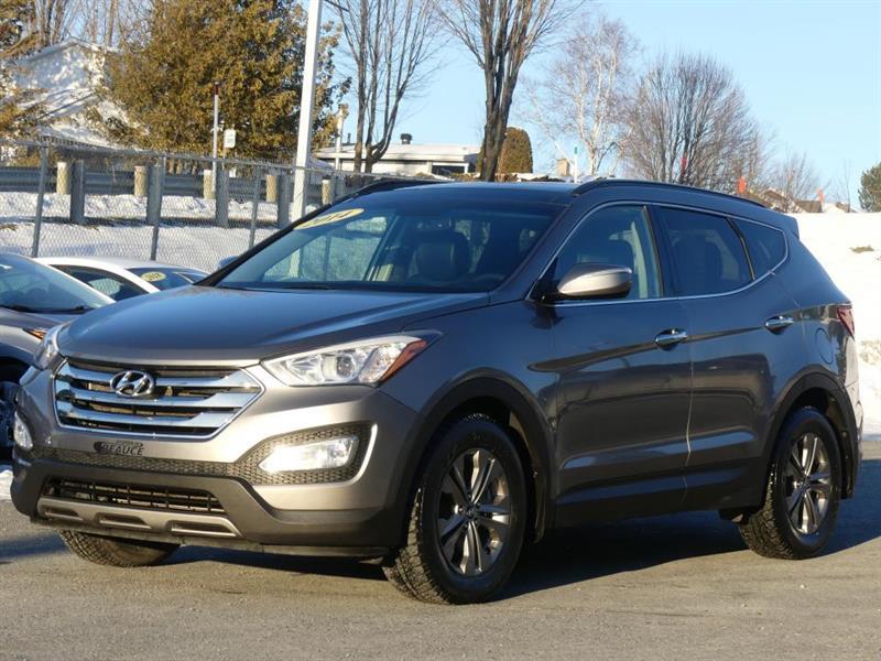 2014 Hyundai  Santa Fe 2.4L LUXURY AWD A BAS PRIX!!!