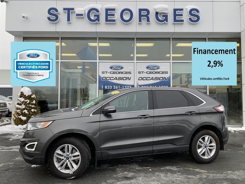 Ford Edge Sel AWD GPS CERTIFIÉ 2.9% 72 M 2018