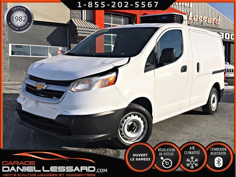 2017 Chevrolet City Express Cargo Van LS * RÉFRIGÉRÉ * EN RÉPARATION , PNEU NEUF  #70631
