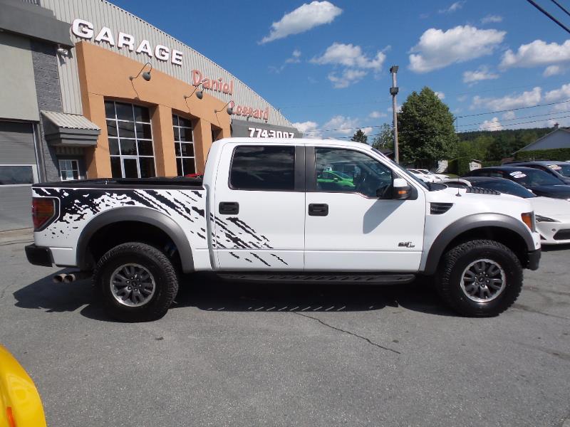 ford f 150 svt raptor crew cab inspect au complet 2011 occasion vendre notre dame des. Black Bedroom Furniture Sets. Home Design Ideas