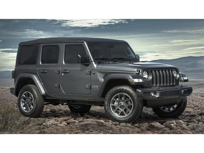 2021 Jeep  Wrangler Sahara 80th Anniversaire