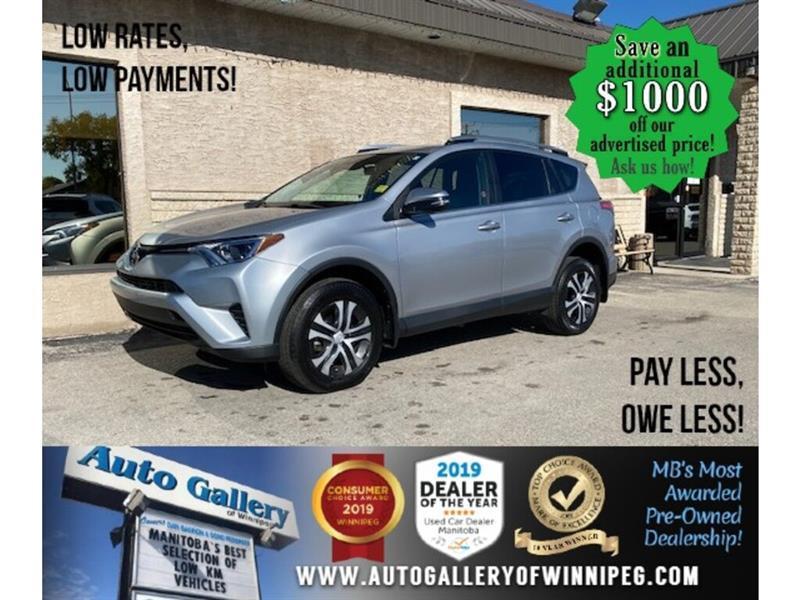 2017 Toyota RAV4 LE* Awd/Htd seats/B.cam #24612