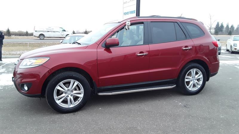 2012 Hyundai Santa Fe Limited 3.5 #P752