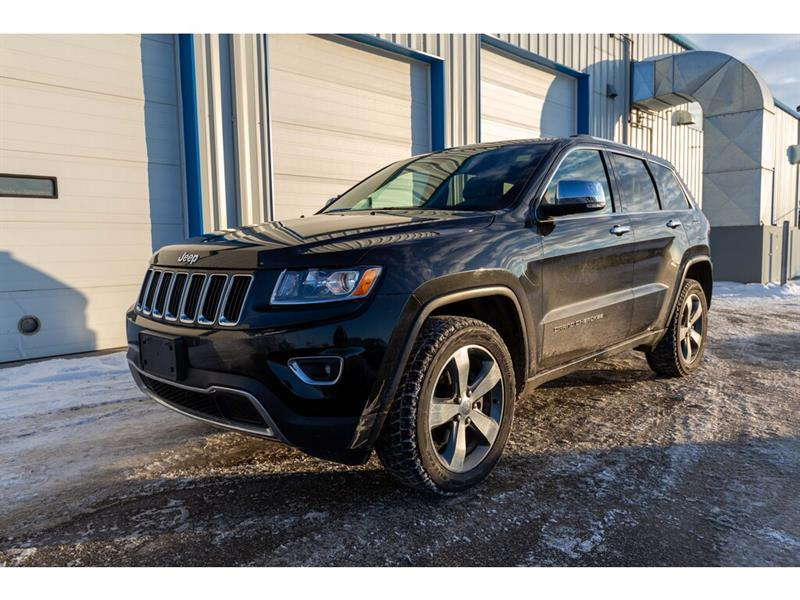 2016 Jeep Grand Cherokee 4WD 4dr Limited*NAV*HTD LTHR*PWR LIFTGATE*BLUETOOT #LSE560