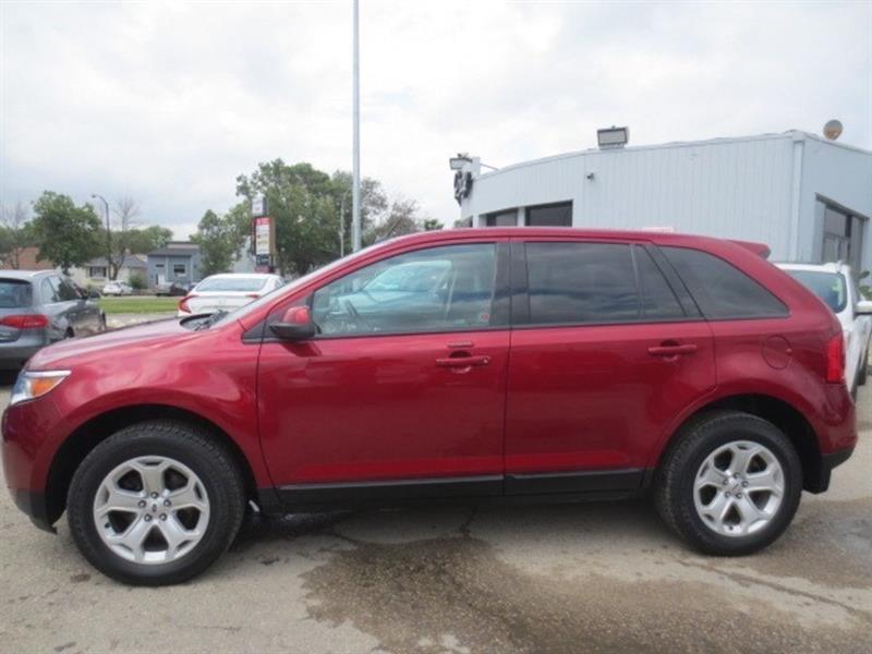 2014 Ford EDGE SEL AWD - LTHR/NAV/CAMERA #3711
