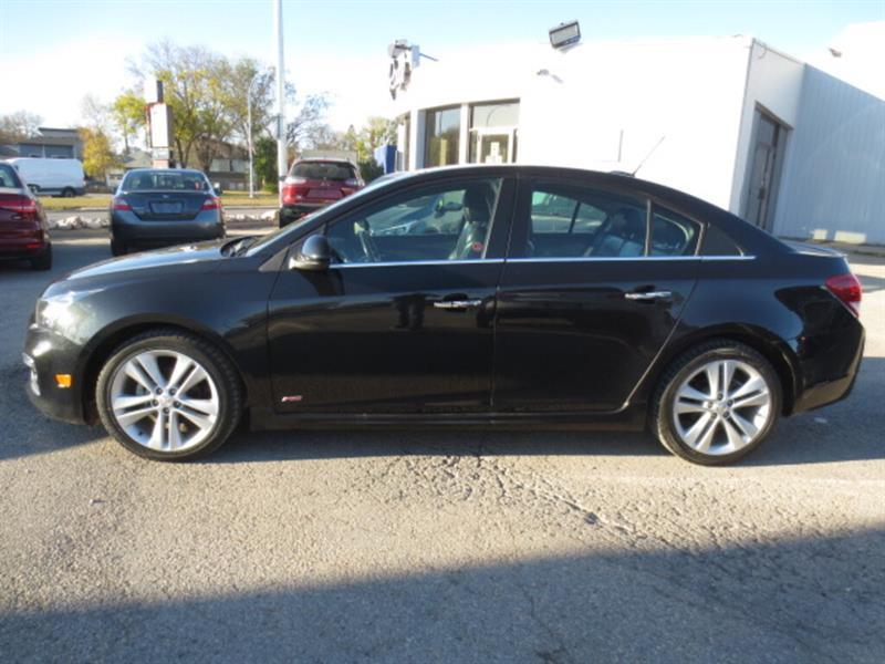 2016 Chevrolet Cruze 4dr Sdn LTZ - Leather/Sunroof/Camera #4620