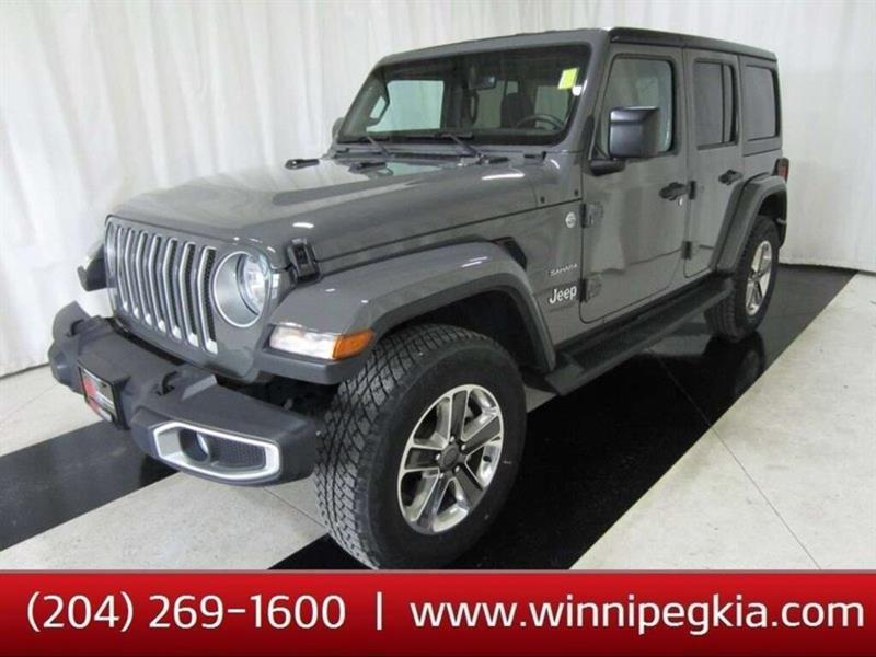 2020 Jeep Wrangler Unlimited Sahara #20JW92837