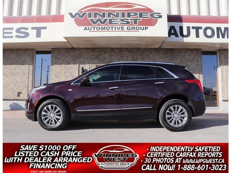 2018 Cadillac XT5 LUXURY AWD, PAN ROOF, LANE DEPART, BLIND SPOT! #GNW5652