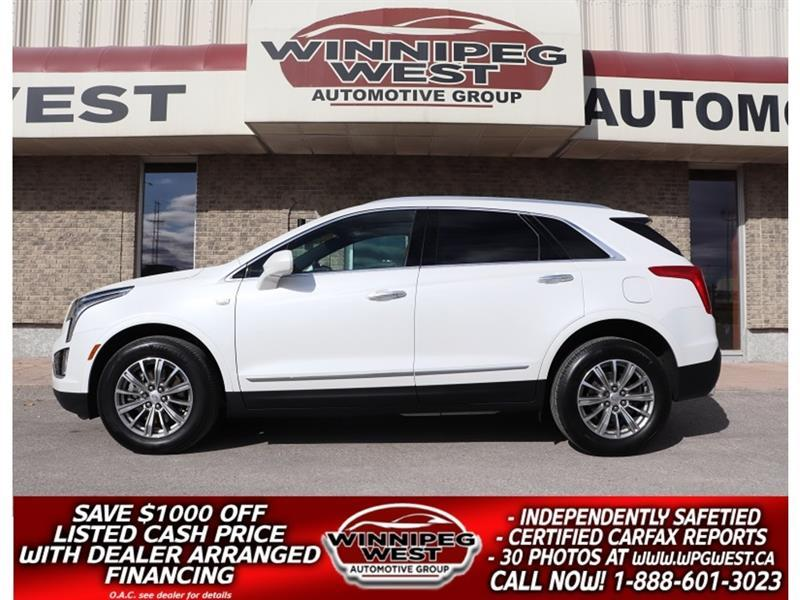 2018 Cadillac XT5 LUXURY AWD, LEATHER, PAN ROOF, DRIVER AWARE PKG #GNW5653