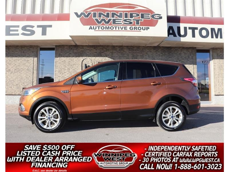 2017 Ford Escape SE  AWD, HTD SEATS, CAMERA, CLN 1 OWNER, *$140 B/W #GNW5661