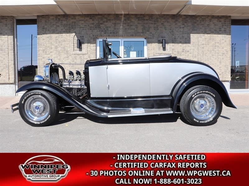 1930 Ford Model A RESTO-MOD, ALL STEEL, EXCEPTIONAL 6 FIG BUILD!! #CWCON195