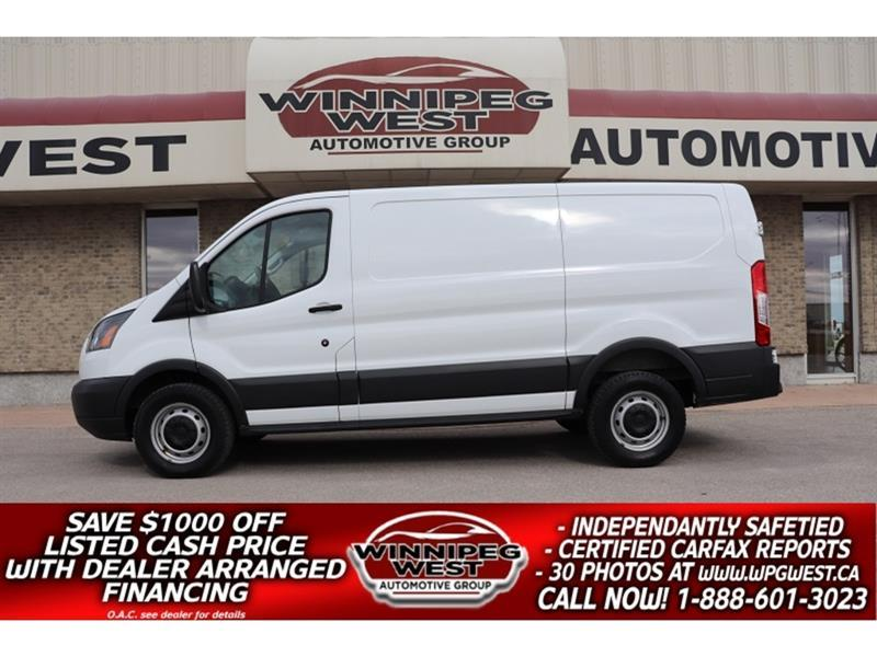 2015 Ford Transit Cargo Van T-250 3/4 TON POWERSTROKE DIESEL, BABACO SECURITY! #DW5691A