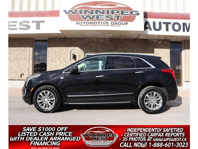 2018 Cadillac XT5 LUXURY AWD, LEATHER, PAN ROOF, DRIVER AWARE PKG! #GNW5659