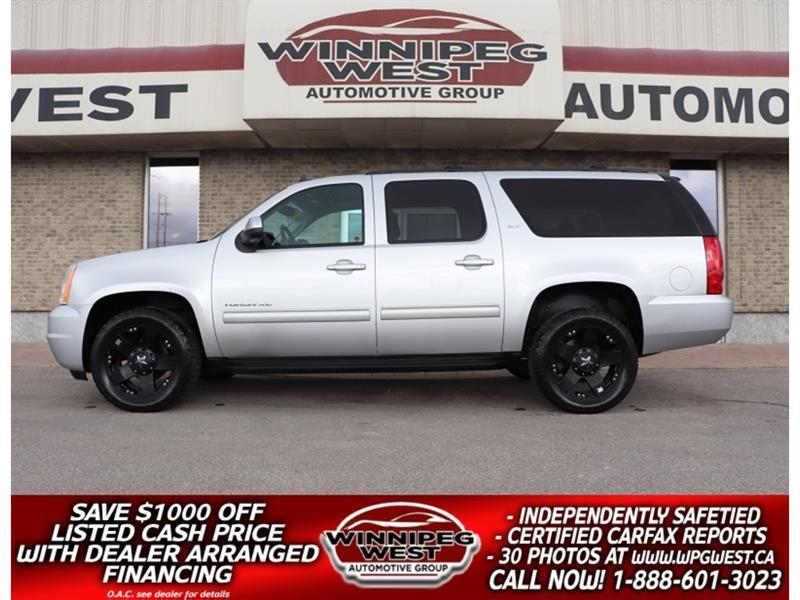 2014 GMC Yukon XL SLT 5.3L 4X4, 8 PASS, HTD LEATHER, SUNROOF, CLEAN! #GNW5697